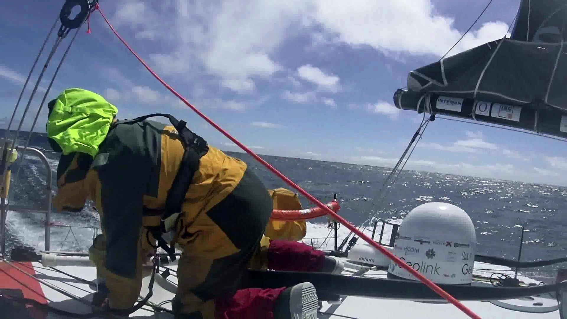 D69 : Images from Didac Costa / Vendée Globe