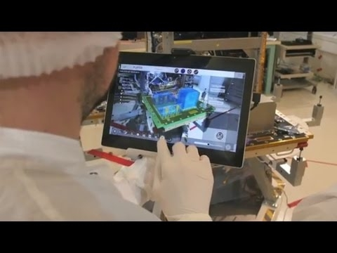 La réalité augmentée dans le spatial, c'est réel