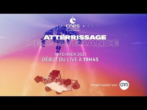 [REPLAY] #CapSurMars - Atterrissage de Perseverance