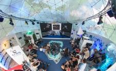 Le pavillon du CNES au Salon du Bourget 2015
