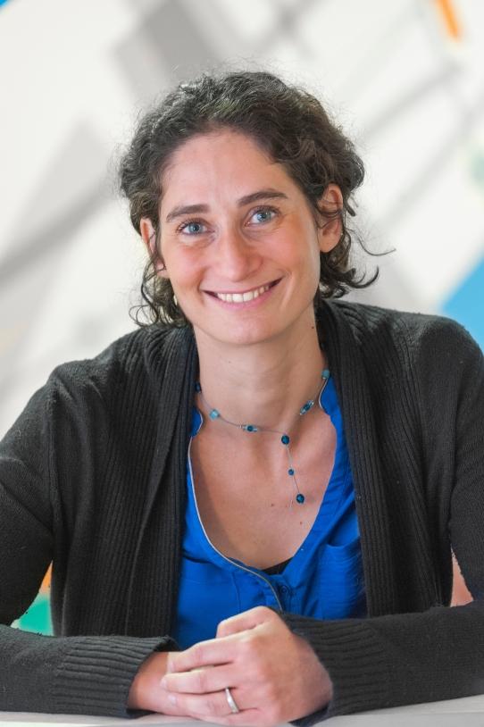 Carole Deremaux, ingénieur Ariane 6 à la DLA.