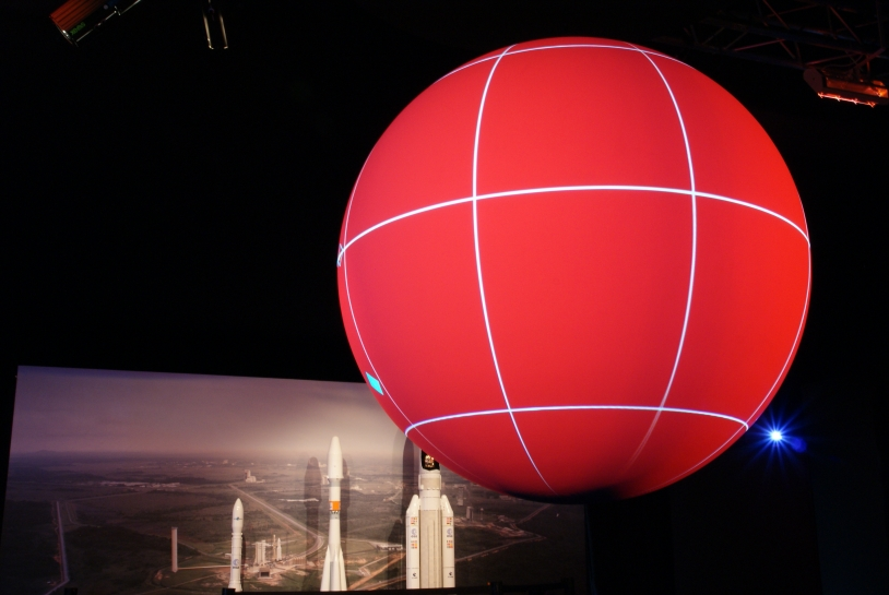 The CNES sphere. Credits: CNES.
