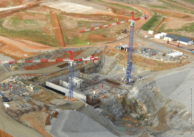 Dernières images du chantier Soyouz. Crédits : ESA/CNES/Arianespace